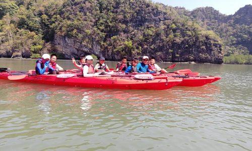 李昕蕾-20180209帆船-兰卡威-海岛皮划艇